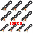 1PC AV TV RCA Video Cord Cable For Game cube/SNES GameCube/Nintendo N64 Lot SU