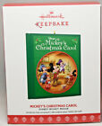 Hallmark: Mickey's Christmas Carol - Disney Mickey Mouse 2017 Keepsake Ornament