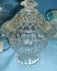 Lead Crystal Candy Bowl with Lid   CLEARANCE SALE