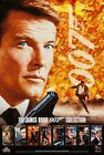 THE JAMES BOND 007 COLLECTION (1996) ORIGINAL VIDEO MOVIE POSTER  -  ROLLED