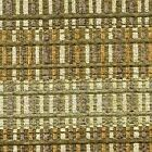 Gold Green Fabric Woven Lattice Upholstery Autumn Colors By The Yard 54W