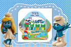 911504 PEZ THE SMURFS SOUR BLUE RASPBERRY COLLECTORS EDITION TIN CANDY 49.3g USA