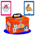 400 American Sign Language Cards Fun Deck - Super Duper Educational Learning Toy