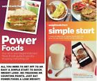 Weight Watchers SIMPLE START PROG  POWER FOODS BOOKS Say No to APPS Track++ NEW