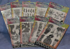 Ranger Dylusions Clear Stamp  Stencil many choices you pick combined shipping