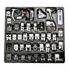 42 PCS Domestic Sewing Machine Foot Feet Snap On For Brother Singer Set Tools