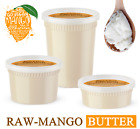 Raw Mango Butter 100% Pure Organic Natural Unrefined For Skin, Face, Hair Care