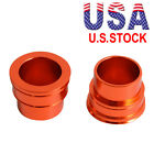 NiceCNC 2PCS Front Wheel Hub Spacer Kit For KTM 125-530 SX SXF EXC EXCF 690 DUKE