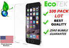 100x Wholesale Bulk Lot Tempered Glass Screen Protector for Apple iPhone 7 8 47