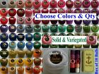 1 ANCHOR Pearl Cotton Crochet Embroidery Thread Ball Balls Size 8 180+ Colors