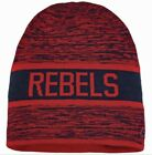 NIKE Ole Miss Rebels Reversible Knit Navy Blue Red Beanie Cap NEW Mens O/S