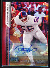 2015 TOPPS ADRENALINE RUSH FIELD ACCESS LAWRENCE TAYLOR AUTO 1 1 NEW YORK GIANTS