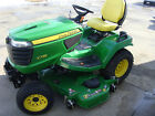 2013 John Deere X738 EFI 4WD 60 DECK NEW ENGINE located in MN NO paypal