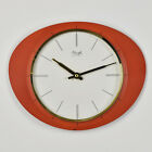 German Modernist Kienzle Wall Clock Mid Century Junghans Max Bill Nelson Era
