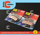 2007 - 2009 DUCATI HYPERMOTARD 1100 S - FRONT EBC HH RATED BRAKE PADS - 2 PAIRS
