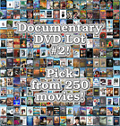 Documentary DVD Lot 2 DISC ONLY Pick Items to Bundle and Save