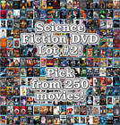 Science Fiction DVD Lot 2 DISC ONLY Pick Items to Bundle and Save