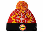 New Era $28 Houston Rockets NBA Basketball HWC Glowflake Knit Pom Beanie Cap