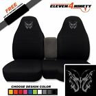 91-15 Ford Ranger Black 60-40 Seat Covers Tribal Butterfly Design. 9 Colors