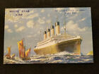 ORIGINAL - WHITE STAR LINE - RMS OLYMPIC POSTCARD - NOT A REPRODUCTION
