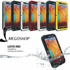 LOVEMEI Shockproof Aluminum Metal Case Cover POWER FOR SAMSUMG GALAXY NOTE3 ER