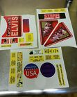 NOS Stern Elvis Pinball Machine Decal Set 802-5000-84