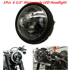1x 6 1 2 Motorbike Motorcycle LED Projector Daymaker Headlight Lamp Cafe Racer