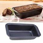 Rectangle Non-stick Toast Bread Cake Baking Mold Loaf Tin Steel Bakeware Pan GD
