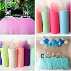 Pricess TUTU Tulle Roll for Wedding Party Birthday Baby Shower Birthday
