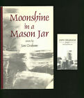 SIGNED book of poetry by Jan Graham  Moonshine in a Mason Jar 2001 Ohio poet