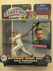 ALEX RODRIGUEZ 2001 MLB STARTING LINEUP 2 EXTENDED SERIES FIGURE *TEXAS RANGERS*