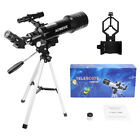 400X70 Refractor Astronomical Telescope Optical Lens W Tripod  Phone Adapter