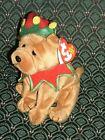 Ty Beanie Babies ~ ELFIS ~ Learning EXPRESS ~ Dog clown ~ 2006 ~ DOB: 3/13/06