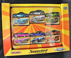 2005 Matchbox Super Fast Collector Tin 6 Pack 164 Scale Diecast MISB