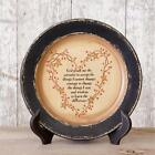PRIMITIVE  HOME DECOR ~ Wooden Plate - God Grant Me The Serenity