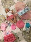 Baby born doll and bath by Zapf Creations. New.