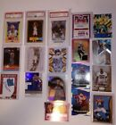 Rookie cards, graded, autographed, jersey cards collectors bulk Star value lot