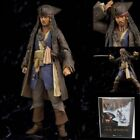SH Figuarts Pirates of Caribbean Captain Jack Sparrow Action Figure New In Box