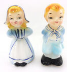 Girl and Boy Salt Pepper Shakers World Creations Orimco Japan