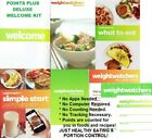 Weight Watchers DELUXE WELCOME KIT PointsPlus 4 Books + More NEW Great Kit