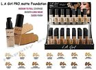 LA GIRL Pro Matte Foundation Covered  Shine Free All Day Long Authentic