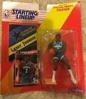 SEALED 1992 Starting Lineup Larry Johnson Figurine With Trading Card and Poster