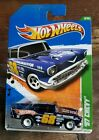Hot Wheels 2011 Super Treasure Hunt 2 12 57 Chevy with Real Riders