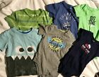 Baby Boy Carters Gap Cherokee Circo Shirts One Pieces LOT Of 6  18 Months