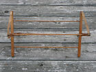Small Homemade Wooden Folding Drying Rack-18 1/2