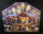 Traditions Wooden Advent Nativity Calendar