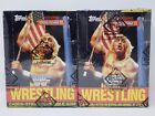1987 TOPPS WWF WRESTLING TWO (2) BOX LOT BBCE AUTHENTIC SEALED NON X-OUT HOGAN