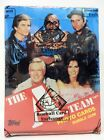 1983 TOPPS THE A-TEAM WAX BOX BBCE AUTHENTIC SEALED NON X-OUT MR. T B.A. BARACUS