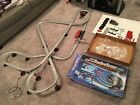 Hot Wheels Super Turbo Trax 3000 Race Track Set + Both Cars Complete