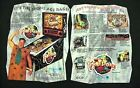 Flintstones Williams Pinball Flyer / Original Brochure